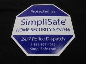 sign for simplisafe home security service